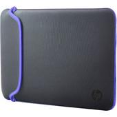 HP 15,6'' Neoprene Sleeve Grijs/Paars