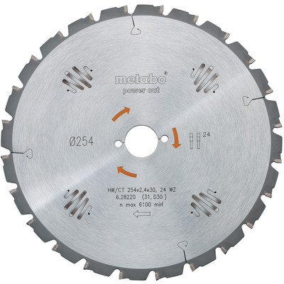 Metabo Zaagblad 315x30x1.8mm 20T