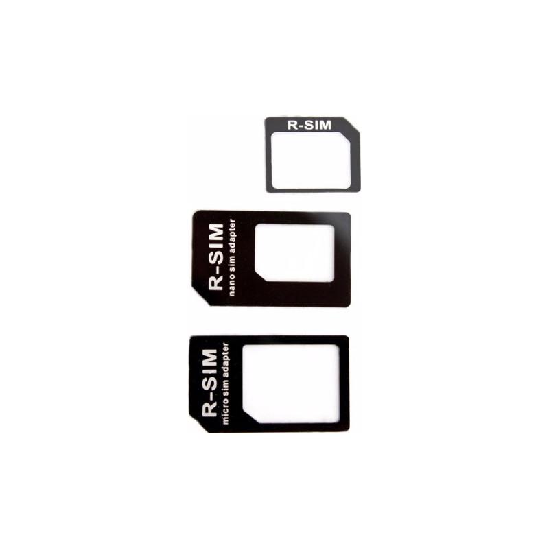 Nano + Micro SIM-adapter