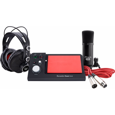 Image of Focusrite iTrack Dock Studio Pack