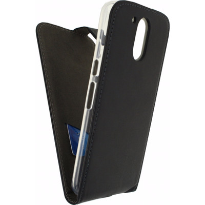 Mobilize Classic Gelly Flip Case Motorola Moto G4/G4 Plus Zwart