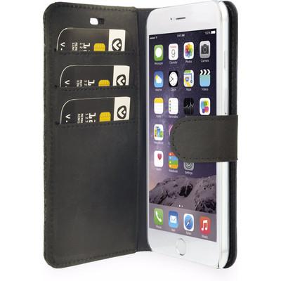Image of Booklet Raw voor de iPhone 6(s) Plus - Black