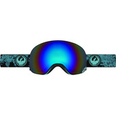 Dragon X2 Mason Blue + Flash Blue Polarized Lens