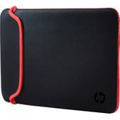 "HP 15,6"" Neoprene Sleeve Zwart/Rood"