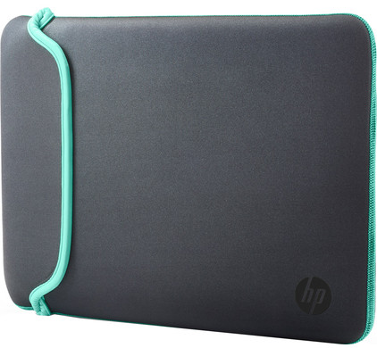 HP 15,6'' Neoprene Sleeve Grijs/Groen