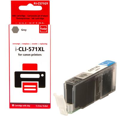 Huismerk Canon CLI-571XL Cartridge Grijs
