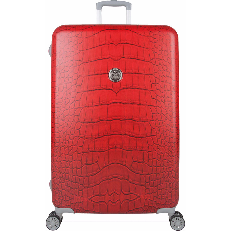 SuitSuit Koffer Spinner 77 Red Diamond Crocodile