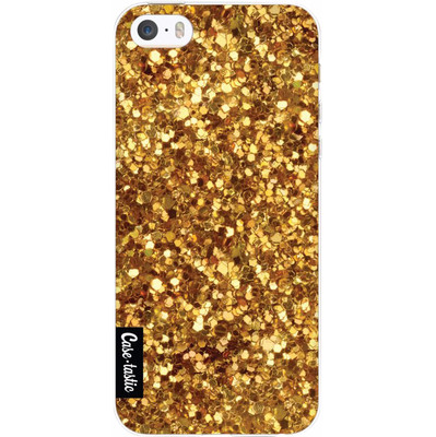 Image of Casetastic Softcover Apple iPhone 5/5S/SE Festive Gold