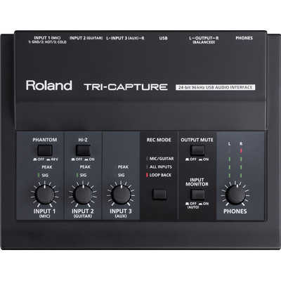 Image of Audio interface Roland UA-33 Incl. software, Monitor-controlling