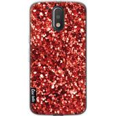 Casetastic Softcover Motorola Moto G4/G4 Plus Festive Red