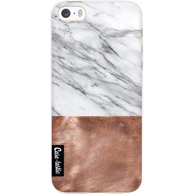 Image of Casetastic Softcover Apple iPhone 5/5S/SE Marble Copper