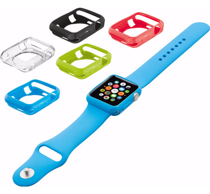 Trust Silicon Case 5-pack for Apple Watch 38mm
