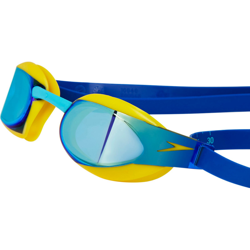 Speedo Junior Fastskin 3 Elite Mirror Yellow-Blue