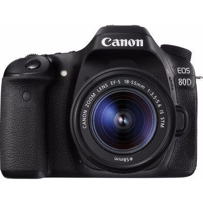 Image of Canon Eos 80D + 18-55mm IS