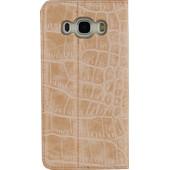 Mobilize Gelly Book Case Samsung Galaxy J5 (2016) Alligator Roze