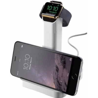 Image of Griffin Apple Watch Stand White