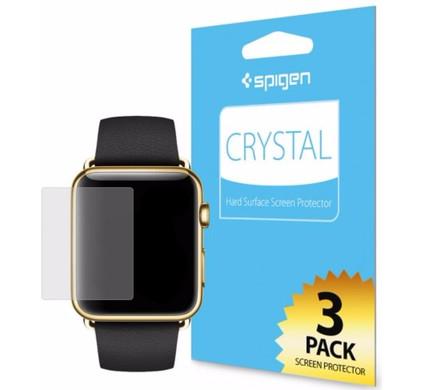Spigen Screen Protector Chrystal 3-pack Apple Watch 42mm