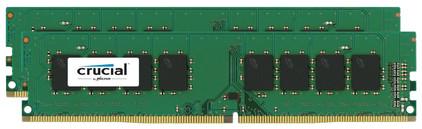 Crucial Standard 16 GB DIMM DDR4-2400 2 x 8 GB