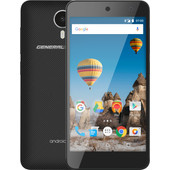 General Mobile Android One GM5 Zwart/Zwart