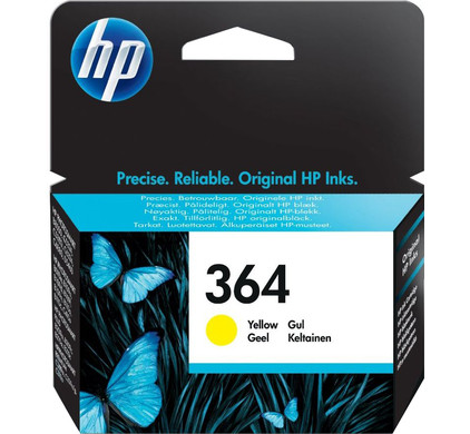HP 364 Cartridge Geel  (CB320EE)