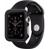 Spigen Thin Fit Apple Watch 42mm Case Zwart