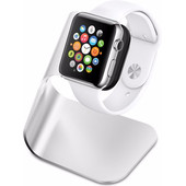 Spigen Apple Watch Night Stand S330 Zilver