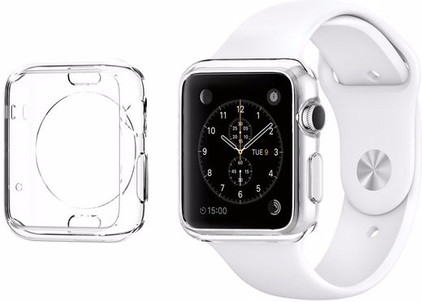 Spigen Liquid Crystal Apple Watch 42mm Case Transparant
