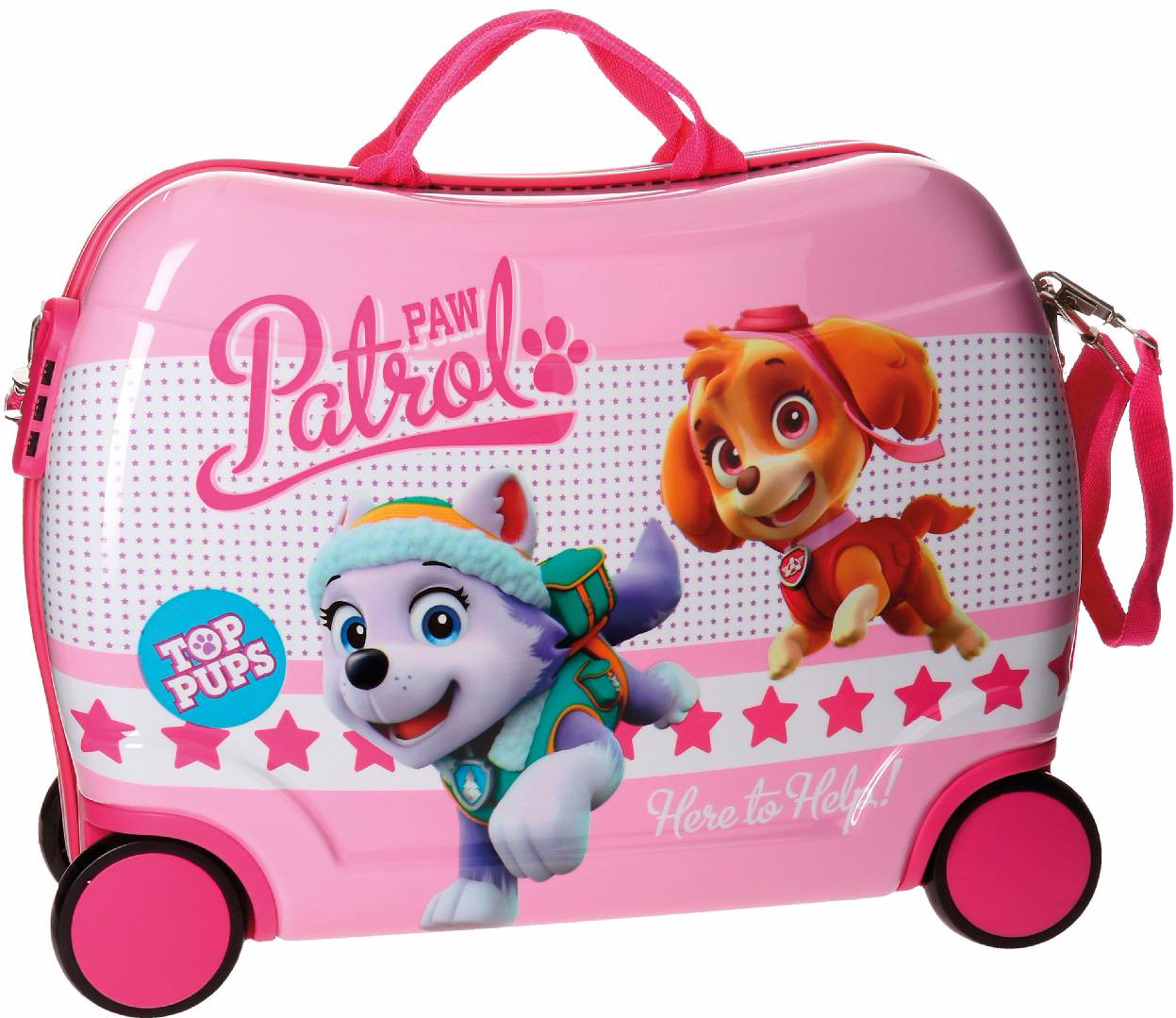 Paw Patrol Top Pups Rolling Suitcase thumbnail