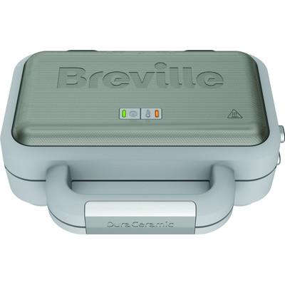Image of Breville DuraCeramic Sandwich- en tostimaker