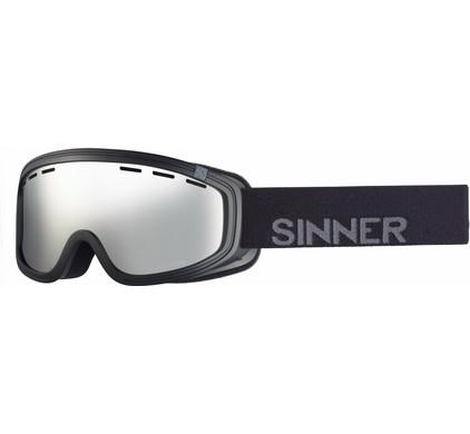 Sinner Visor III OTG Black + Orange Mirror Lens