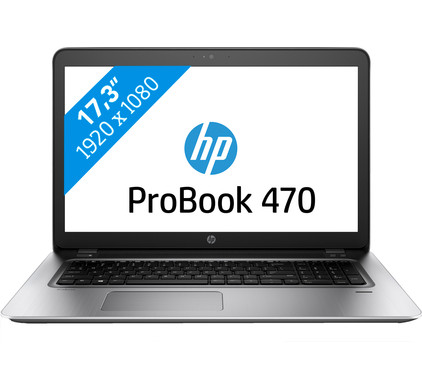 HP ProBook 470 G4 i7-8gb-256ssd+1tb-930mx
