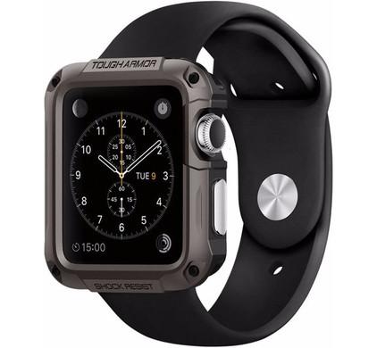 Spigen Tough Armor Apple Watch 42mm Case Grijs