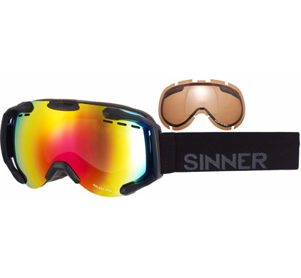 Sinner Galaxy OTG Black + Red & Orange Lenzen