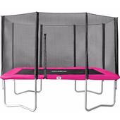 Salta Rechthoekig met Veiligheidsnet 152 x 213 cm Roze