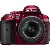 Nikon D5300 Rood + AF-P DX 18-55mm F/3.5-5.6G VR