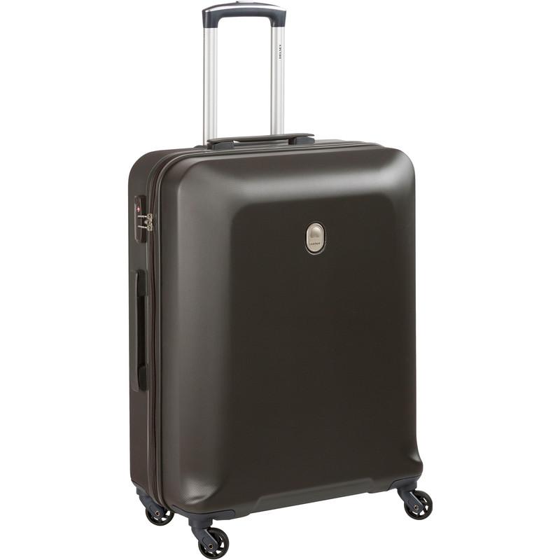 Delsey Biela 4 Wiel Trolley 66 dark beige Harde Koffer