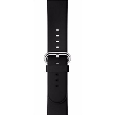 Apple Watch 38mm Polsband Klassiek Leer Zwart