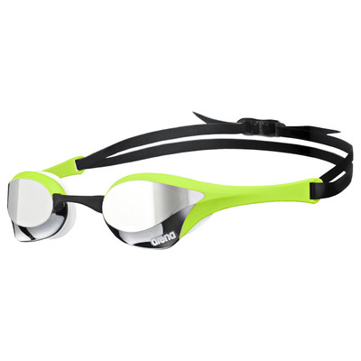 Image of Arena Cobra Ultra Mirror Silver/Green/White