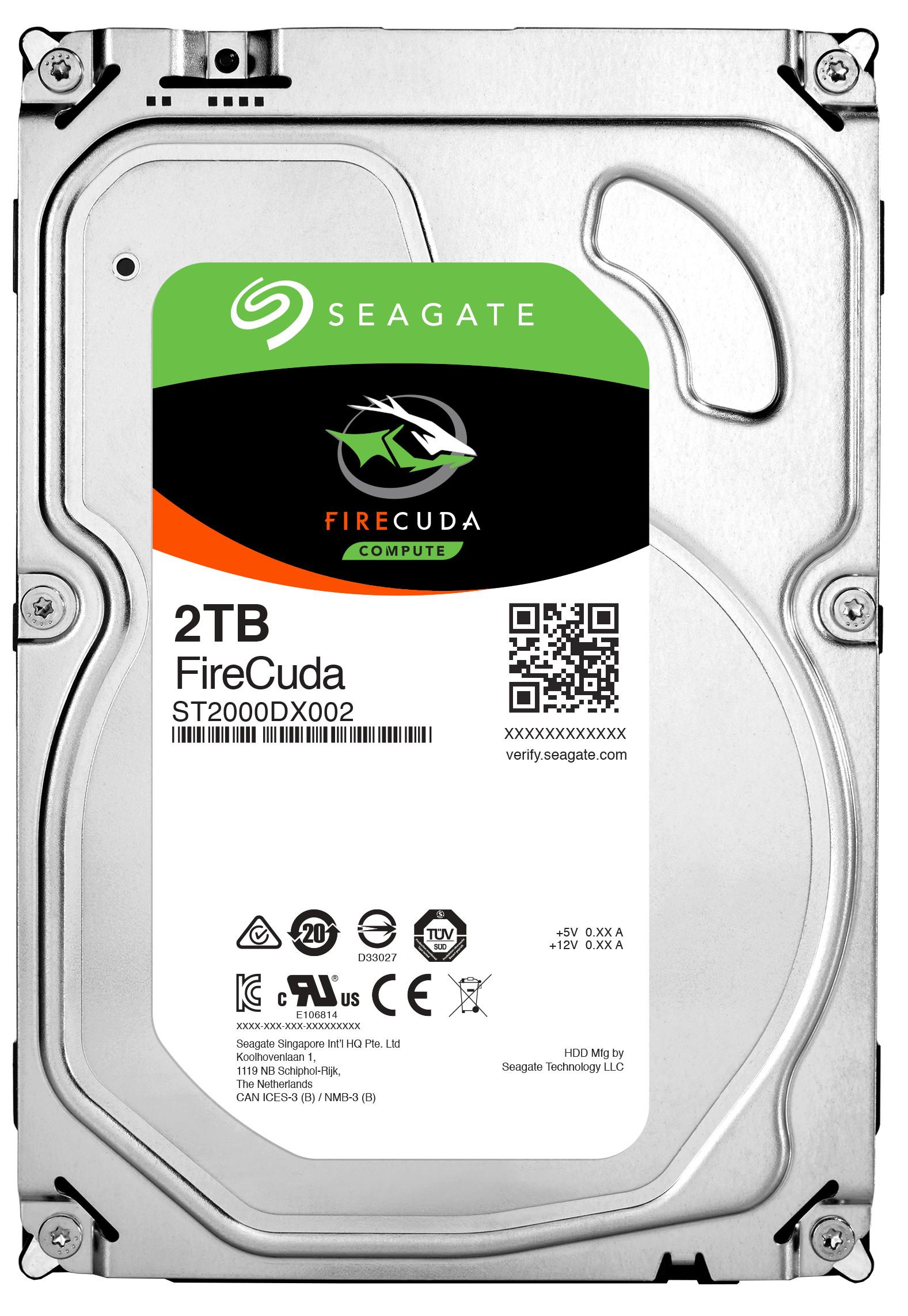 Seagate FireCuda ST2000DX002 2 TB