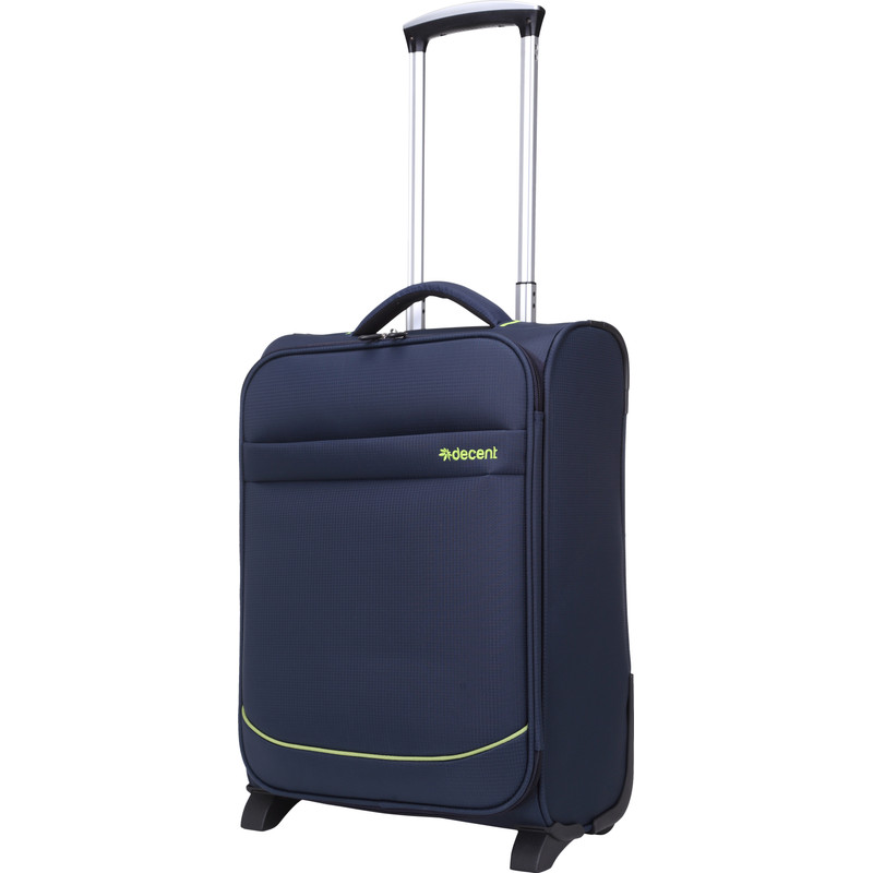 Decent Super Light handbagage trolley donkerblauw