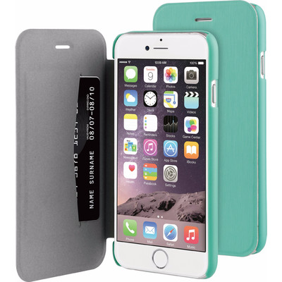 Image of BeHello Apple iPhone 6/6s Book Case Groen