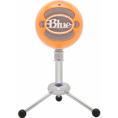 Image of Blue Snowball Neon Orange