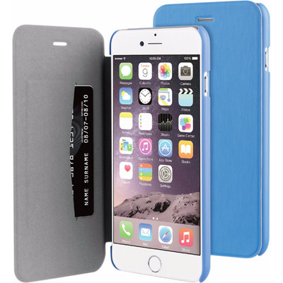 Image of BeHello Apple iPhone 6/6s Book Case Blauw