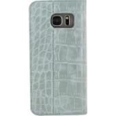 Mobilize Premium Gelly Alligator Samsung Galaxy S7 Edge Book Case Groen