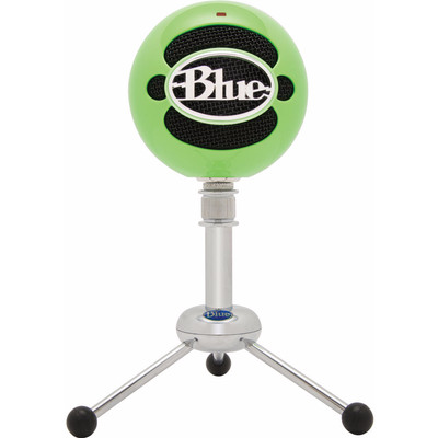 Image of Blue Snowball Neon Green
