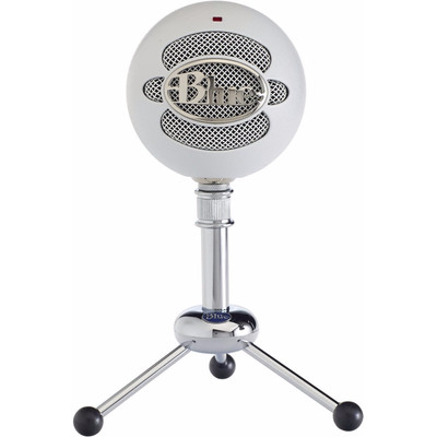 Image of Blue Microphones Snowball White USB-microfoon USB-studiomicrofoon Kabelgebonden Incl. kabel, Voet
