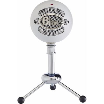 Image of Blue Microphones Snowball White USB-microfoon USB-studiomicrofoon Kabelgebonden Incl. kabel, Voet