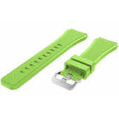 Just in Case Samsung Gear S3 Silicone Watchband Green