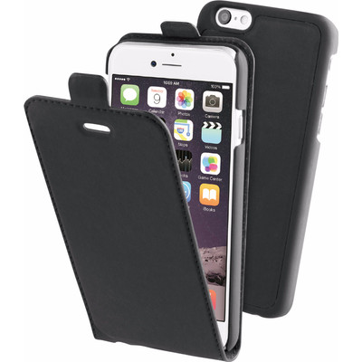 Image of BeHello 2 in 1 Apple iPhone 6/6s Flip Case Zwart