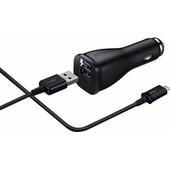 Samsung USB C Autolader 30cm Zwart 2A